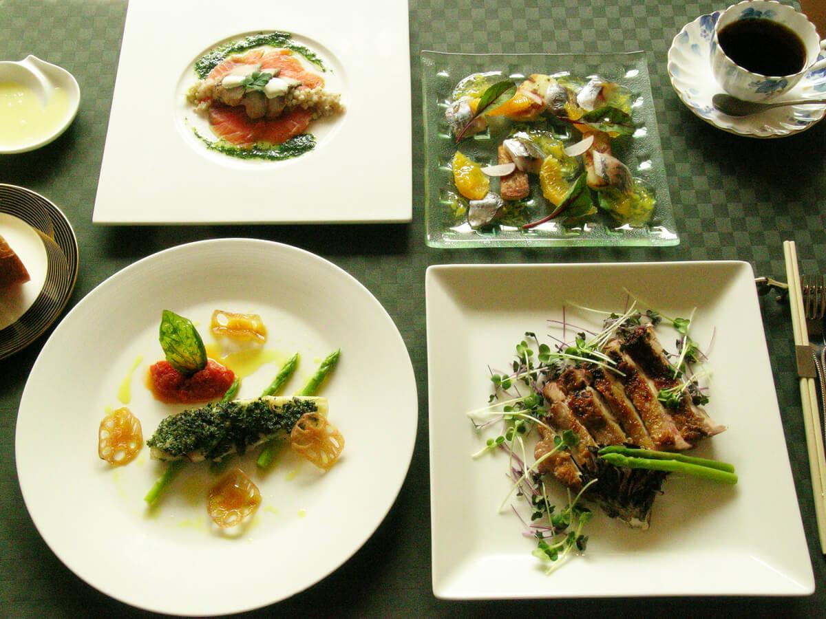 KOHARU亭のディナーコース